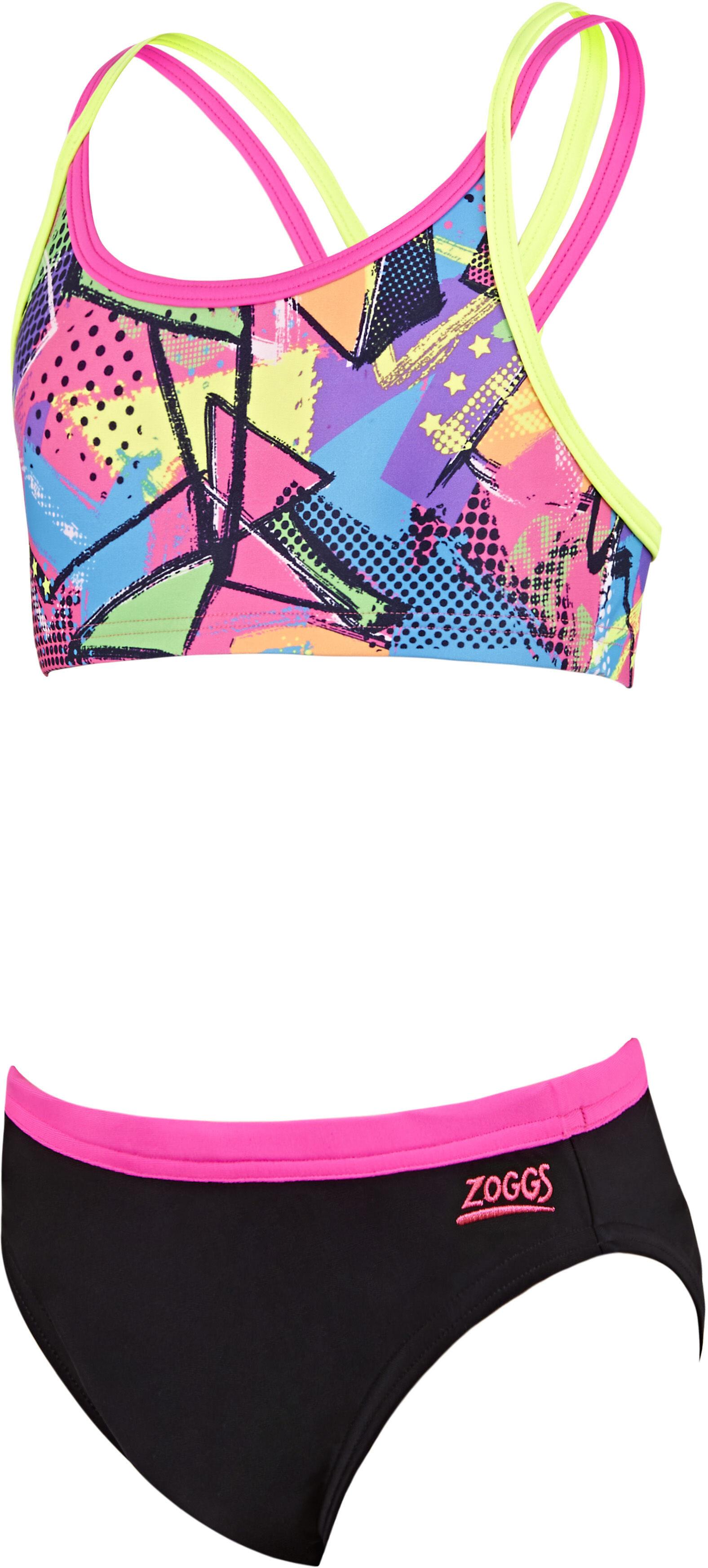Zoggs Street Bikini Barn svart flerfärgad - till fenomenalt pris på ... 10672ee19127c